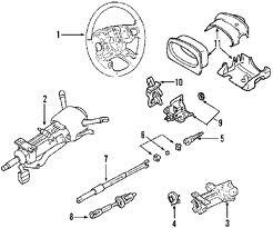 steering column diagram